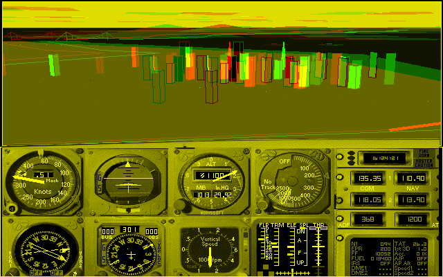 subLOGIC Flight Assignment: Airline Transport Pilot with subLOGIC USA West and Nomssoft 3D Advanced Graphic System